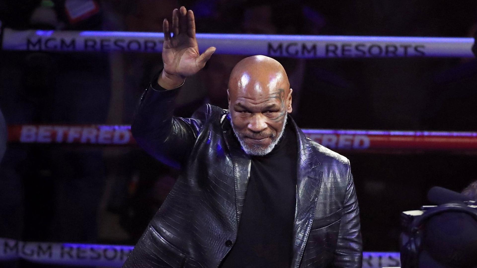 """""""Iron Mike"""" Tysons letzter Profikampf liegt 15 Jahre zurück."""