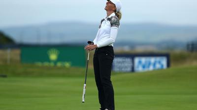 Golferin Sophia Popov ist die Siegerin der British Open 2020.