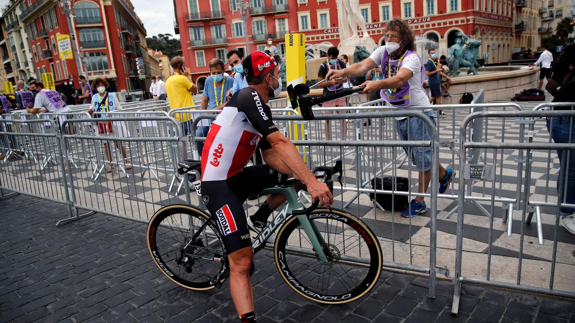 Für John Degenkolb ist die Tour de France beendet.