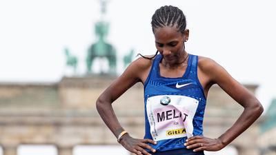 Holte bei der Halbmarathon-WM in Polen mit Europarekord Silber: Melat Kejeta.