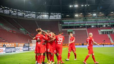 RB Leipzig nahm im Spitzenspiel drei Punkte aus Augsburg mit nach Hause.