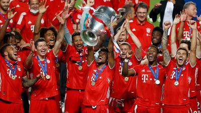 Der FC Bayern hatte in der vergangenen Saison die Champions League gewonnen.