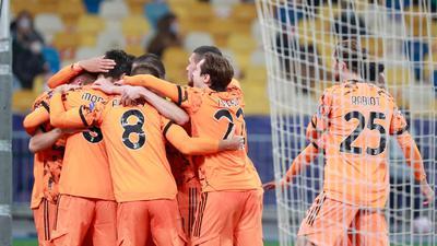 Juventus Turin gewinnt auch ohne Cristiano Ronaldo bei Dynamo Kiew.
