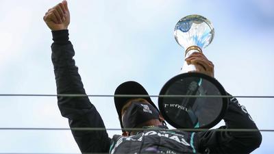 Lewis Hamilton kann beim Großen Preis von Portugal den Rekord für die meisten Grand-Prix-Siege knacken.