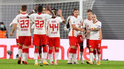 RB Leipzig hatte mit Istanbul Basaksehir keine großen Probleme.