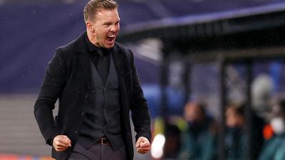 Leipzigs Trainer Julian Nagelsmann gewinnt mit RB das wichtige Auftaktspiel in der Champions League.