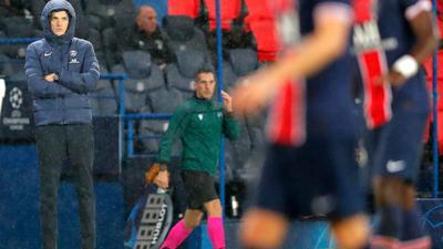 PSG-Cheftrainer Thomas Tuchel war mit der Leistung seiner Mannschaft nicht zufrieden.