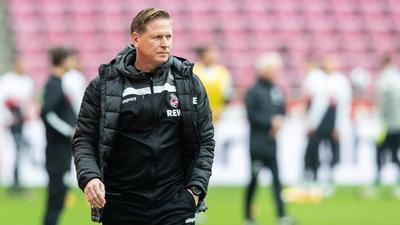 Ist mit dem 1. FC Köln beim VfB Stuttgart unter Druck: Trainer Markus Gisdol.