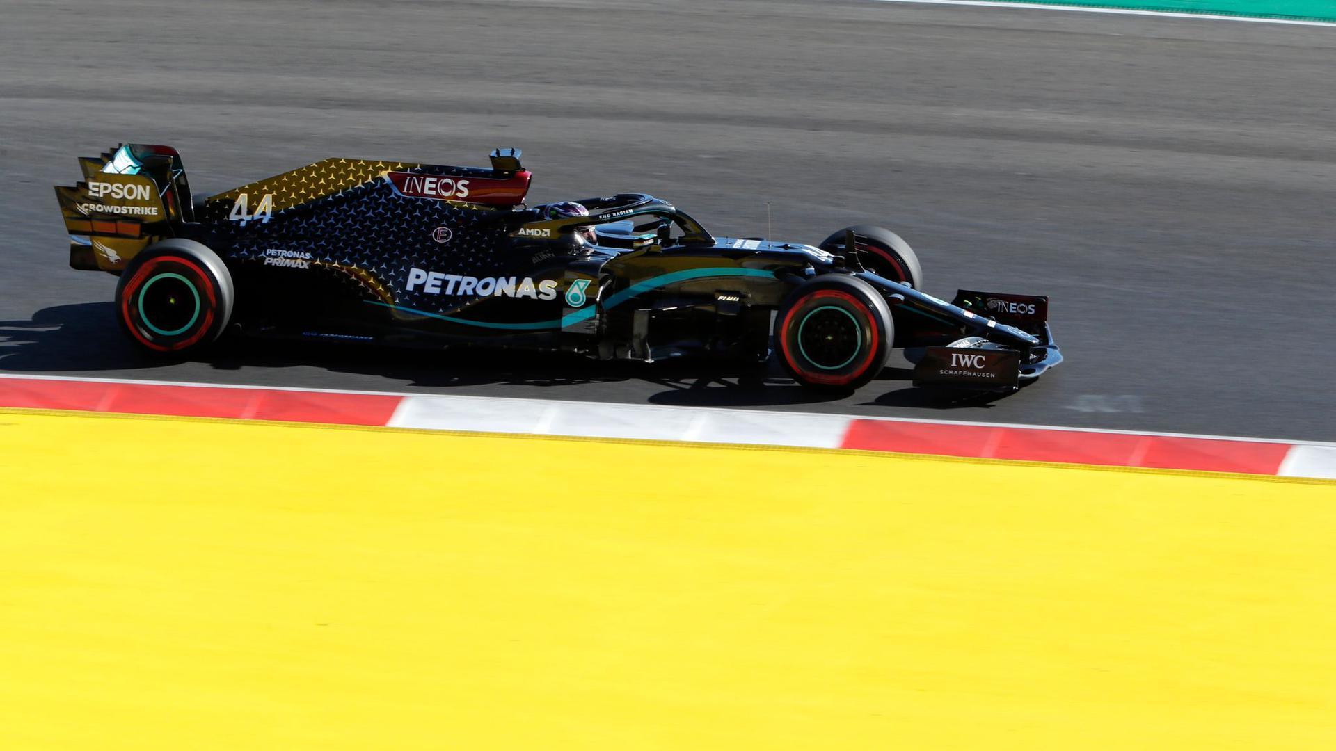 Formel-1-Superstar Lewis Hamilton will auch den Großen Preis von Portugal gewinnen.