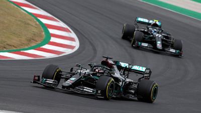 Siegte auch in Portugal: Lewis Hamilton.