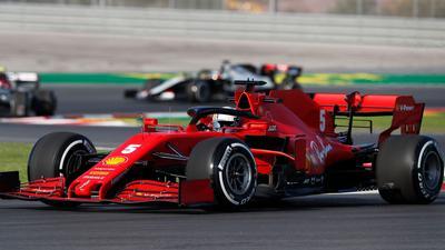 Fuhr im ersten Training in Istanbul auf Platz acht: Sebastian Vettel.