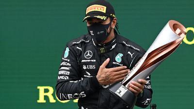 Auf Kurs Richtung Rekordweltmeister: Lewis Hamilton.