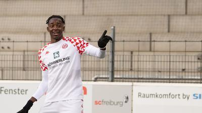 Machte den ersten Mainzer Saisonsieg im Alleingang perfekt: Jean-Philippe Mateta.