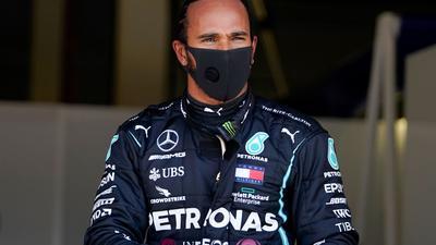Sicherte sich seinen sechsten WM-Titel: Mercedes-Pilot Lewis Hamilton.