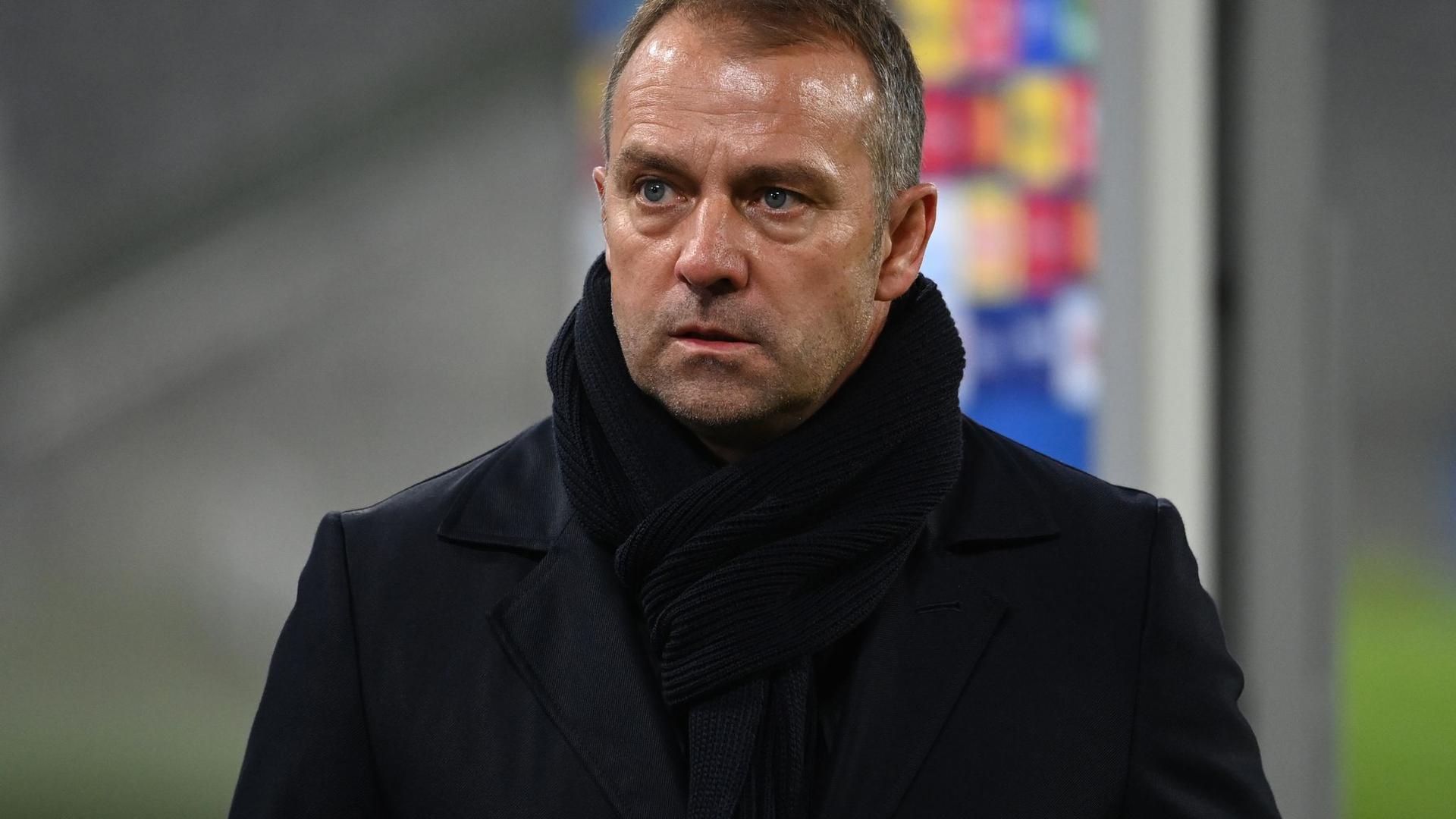 Bayern-Trainer Hansi Flick wünscht sich von seinem Team weniger Fehler.