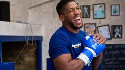 Kehrt in London zurück in den Boxring: Anthony Joshua.