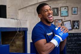 Kehrt in London zurück in den Boxring: Anthony Joshua.