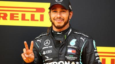 Lewis Hamilton steht bei Mercedes vor der Vertragsverlängerung.