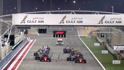 Die Formel 1 startet 2021 in Bahrain.