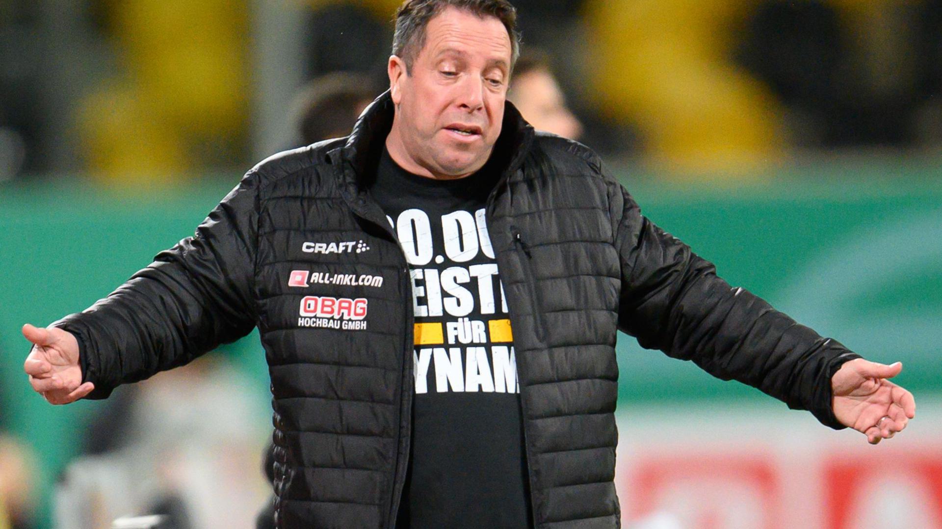 Bei Dresden-Trainer Markus Kauczinski wurde das Coronavirus festgestellt.