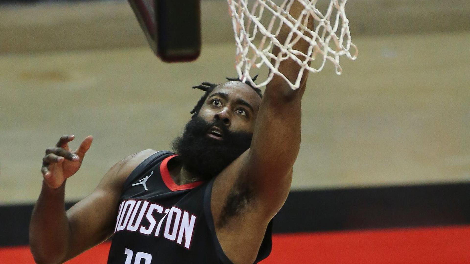 James Harden verlässt die Houston Rockets.