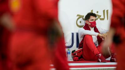 Ferrari-Pilot Charles Leclerc wurde positiv auf das Coronavirus getestet.