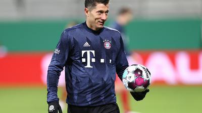 Steht mit (257) Treffern in einer Saison der Bundesliga noch an dritter Stelle: Robert Lewandowski.