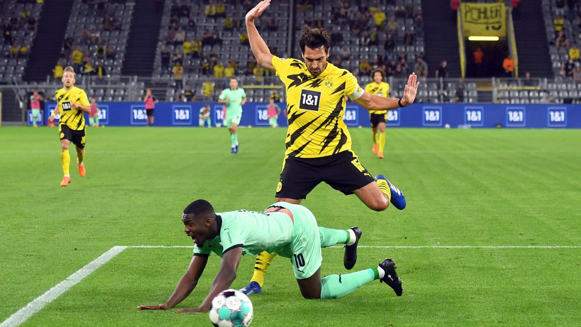 Das Traditionsduell Borussia Mönchengladbach gegen Borussia Dortmund birgt immer jede Menge Brisanz.