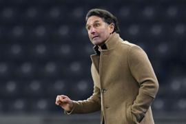 Sollte mit Hertha gegen Werder Bremen eigentlich keine Niederlage einfahren: Trainer Bruno Labbadia.