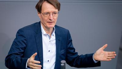 Karl Lauterbach ist der Gesundheitsexperte der SPD.