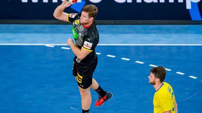 Wurde nach der Handball-WM positiv auf Corona getestet: Johannes Golla.