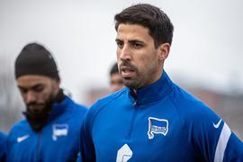 Kehrt mit Hertha BSC nach Stuttgart zurück:Sami Khedira.