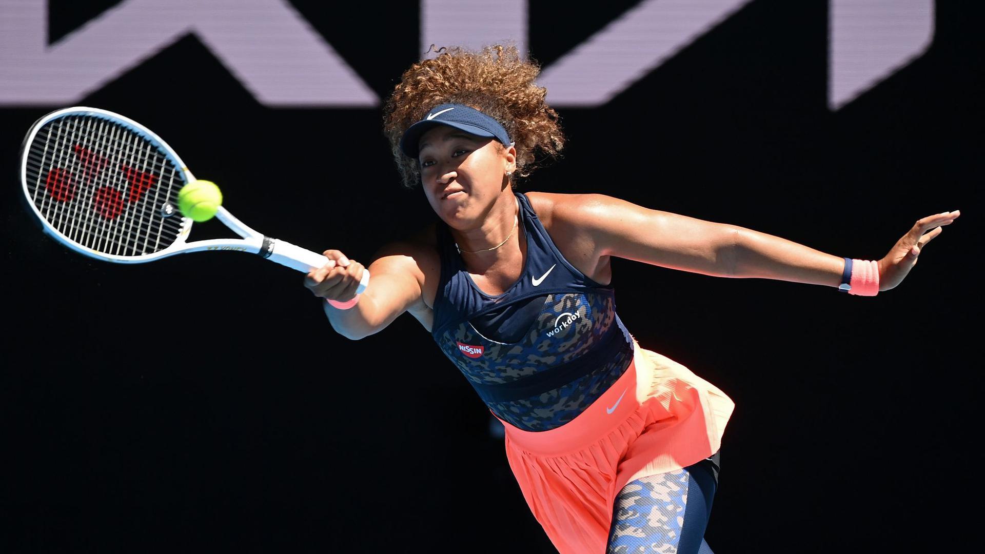 Favoritin im Australian-Open-Finale der Frauen: Naomi Osaka.