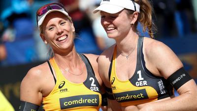 Karla Borger und Julia Sude verzichten auf einen Start beim World-Tour-Turnier in Katar.
