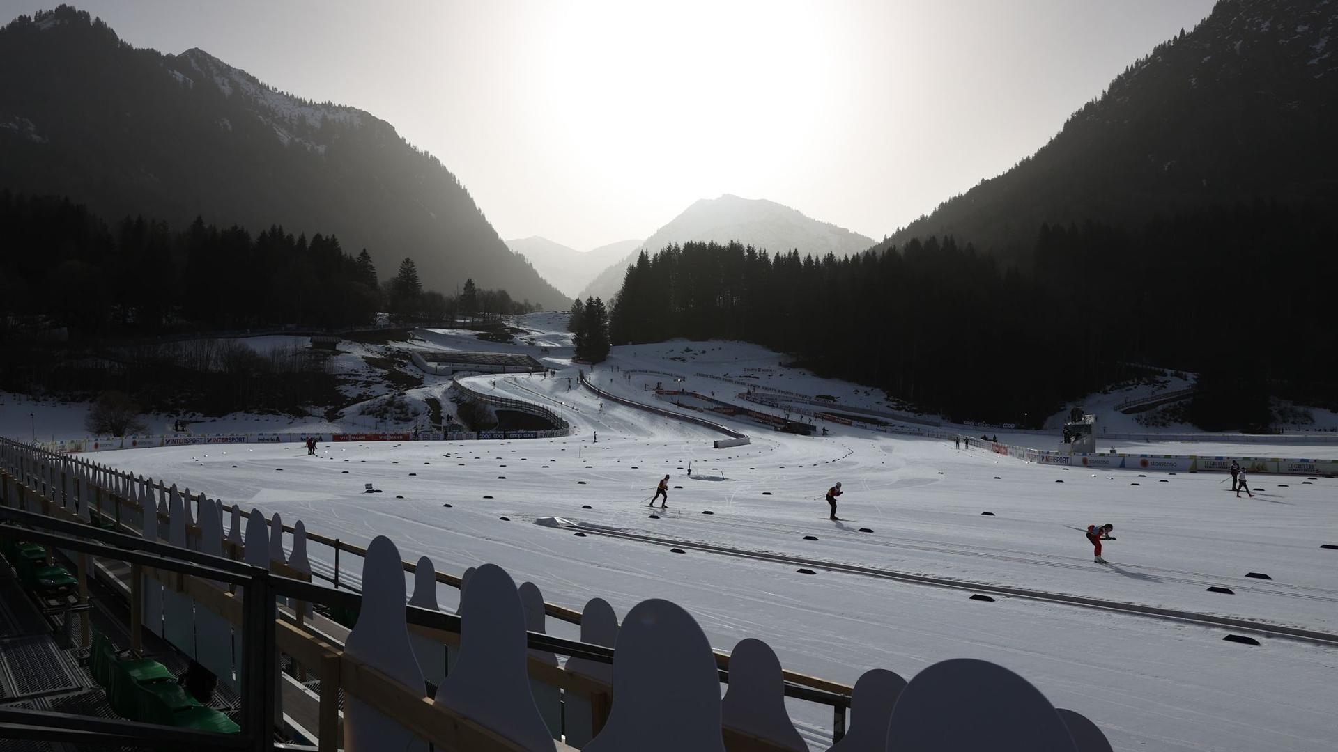 Die nordische Ski-WM findet in Oberstdorf statt.