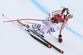 Legte in Val di Fassa eine starke Abfahrt hin: Kira Weidle.