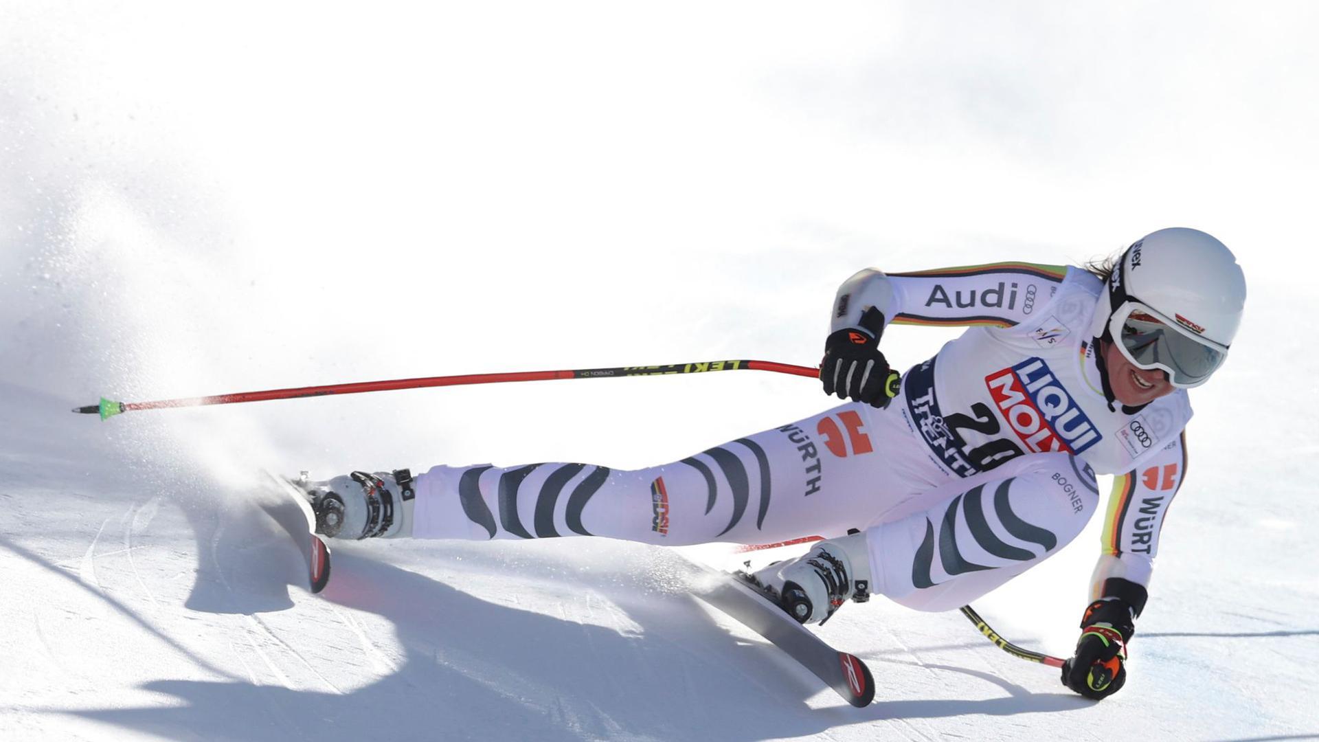 Fuhr im Super-G in Val di Fassa hinterher: Kira Weidle.