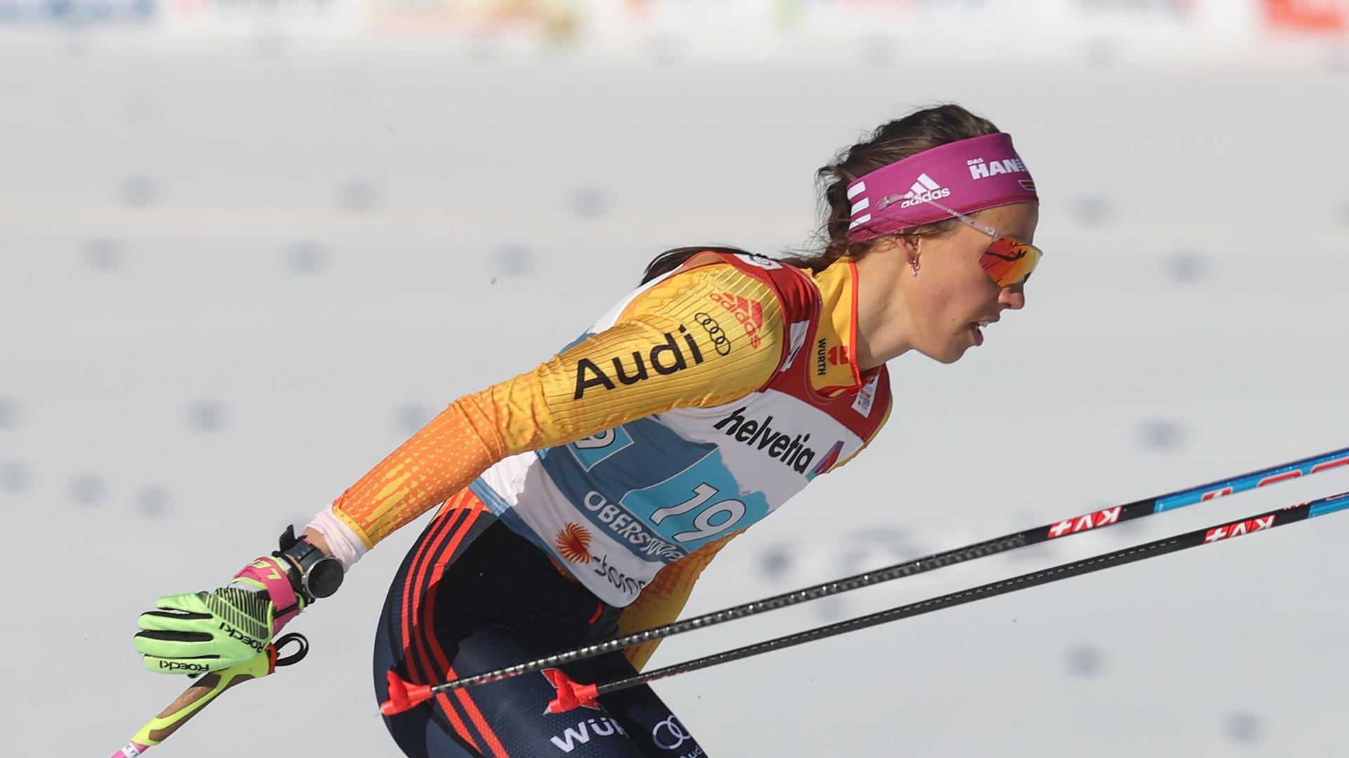 Erreichte mit Victoria Carl das Finale im Teamwettbewerb: Sofie Krehl.