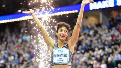 Springt in Torun um eine EM-Medaille: Malaika Mihambo.