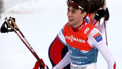 Der Norweger Jarl Magnus Riiber ist auch im Einzel in der Kombination der Favorit.