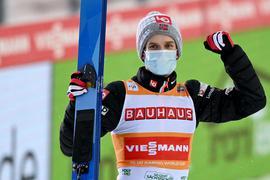 Steht vorzeitig als Gesamtweltcup-Gewinner fest: Skisprung-Star Halvor Egner Granerud.