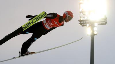 Markus Eisenbichler in Aktion.