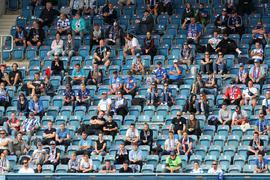 Hansa Rostock darf im Ostseestadion vor Zuschauern spielen.