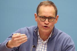 Michael Müller (SPD), Regierender Bürgermeister von Berlin.