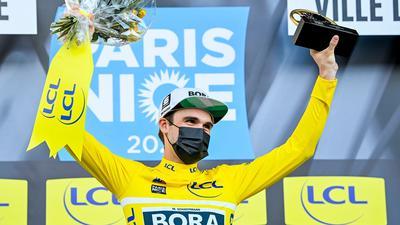 Holte wie im Vorjahr den Gesamtsieg bei Paris-Nizza, 2021 aber an anderer Stelle - wegen Corona: Maximilian Schachmann.