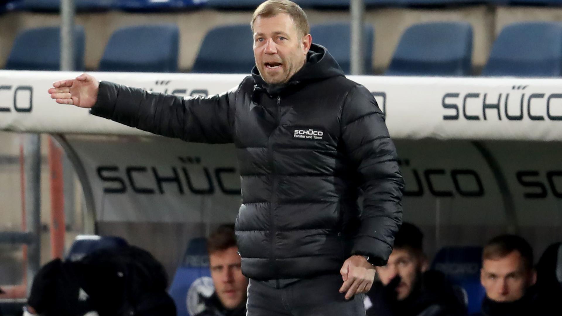 Will mit Bielefeld den Abstieg verhindern: Trainer Frank Kramer.