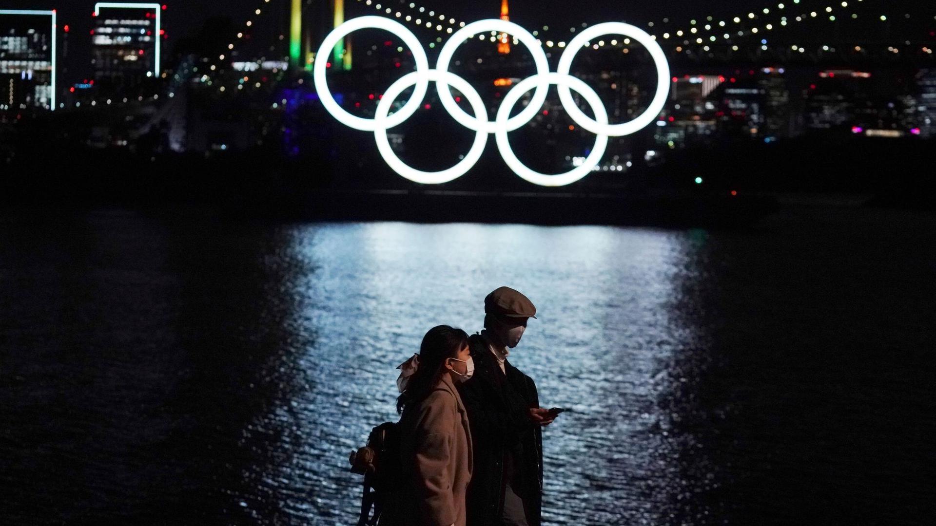 Noch steht ein großes Fragezeichen hinter den Olympischen Spiele in Japans Hauptstadt Tokio.
