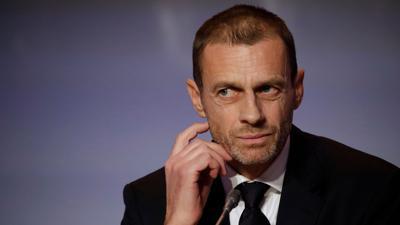 """Hofft auf eine Fußball-EM, die """"so normal wie möglich ist"""": UEFA-Präsident Aleksander Ceferin."""