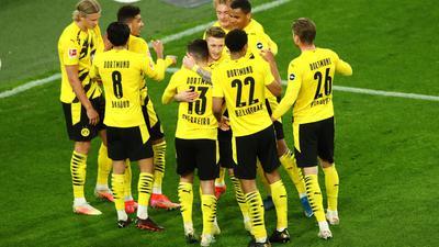 Borussia Dortmund untermauerte seine Ambitionen auf einen Champions-League-Platz.