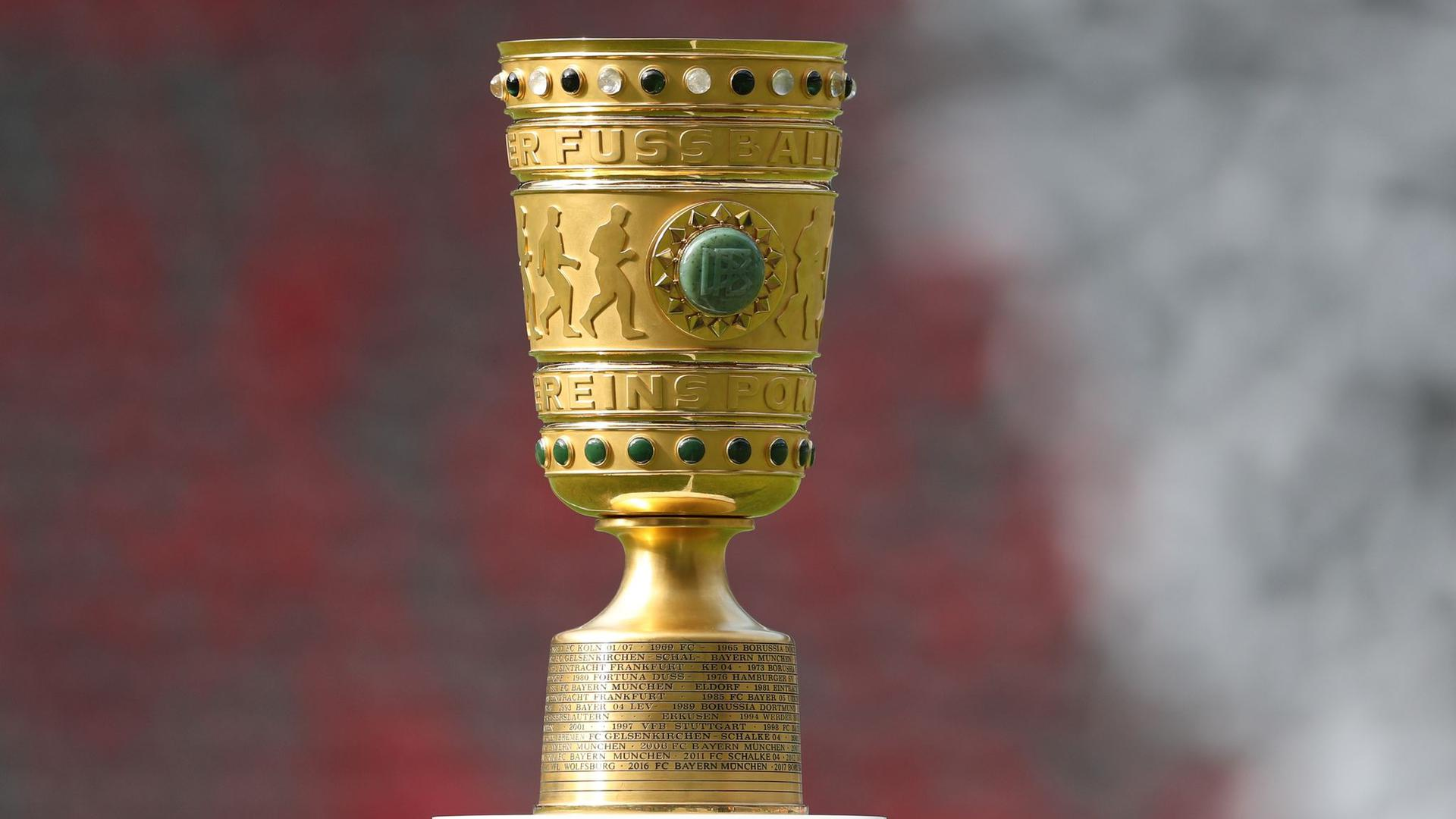 Das Finale im DFB-Pokal wird erneut ohne Zuschauer ausgetragen.